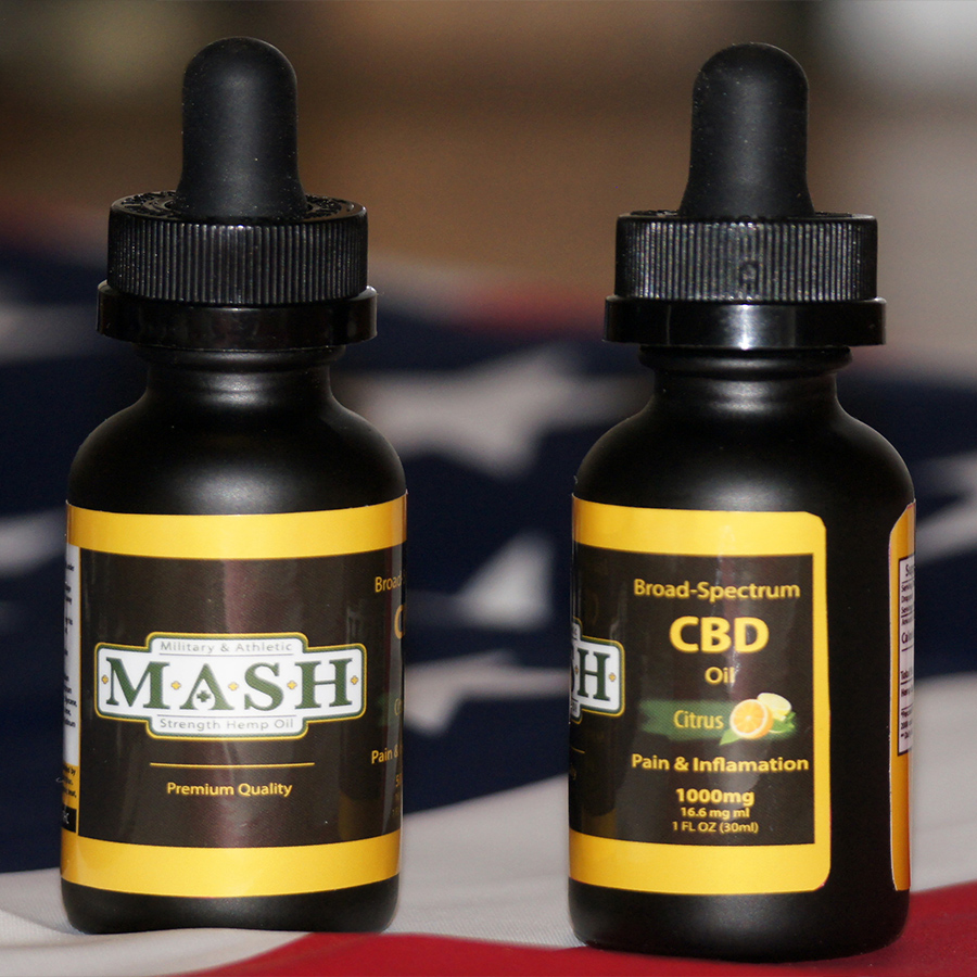 MASH Hemp CBD Oil